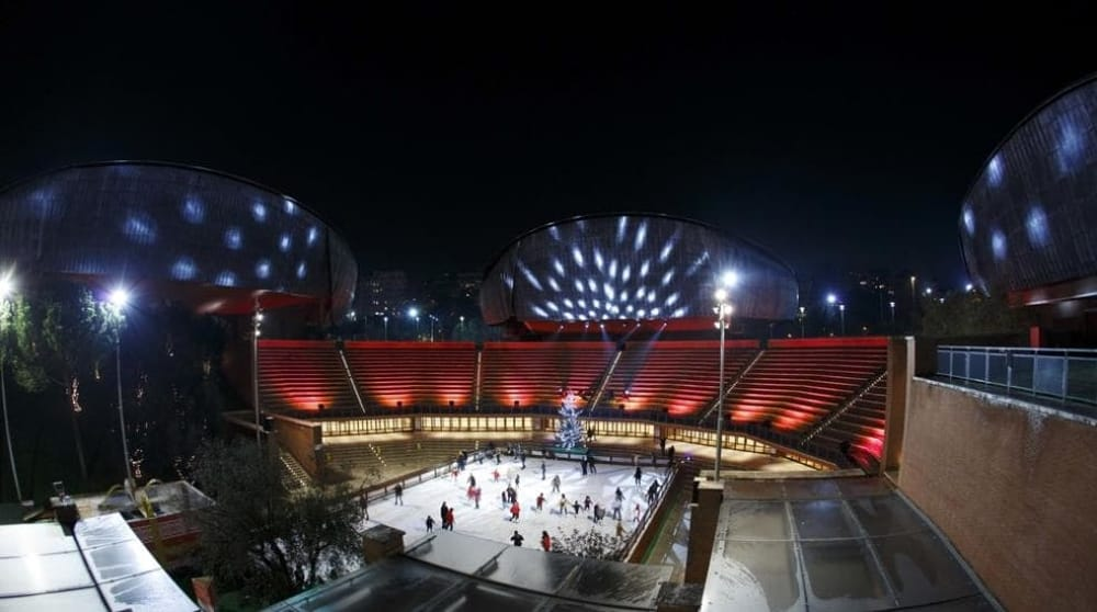 L'Auditorium come Rockefeller Center: ecco la pista di pattinaggio sul ghiaccio - Roma e dintorni notizie
