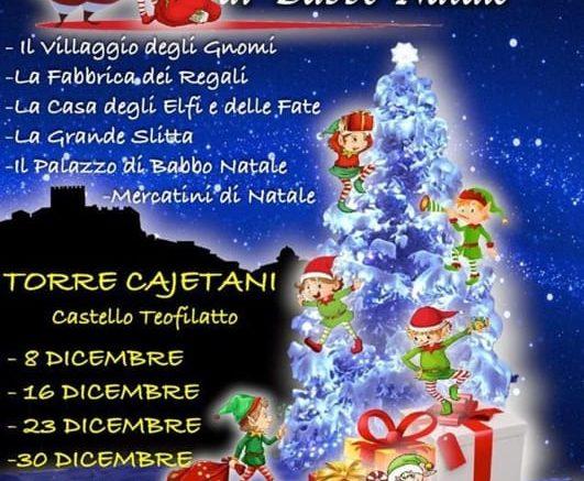 Babbo Natale 8 Dicembre Roma.Torre Cajetani Il Castello Magico Di Babbo Natale Roma E Dintorni